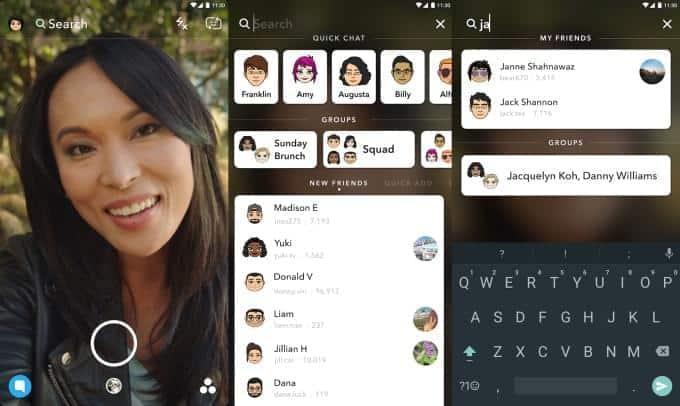 Snapchat Universal Search 1 1
