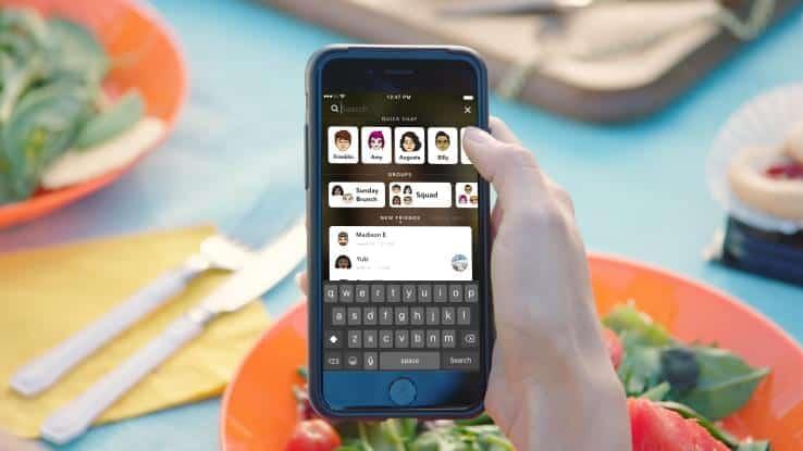 Snapchat Universal Search 2
