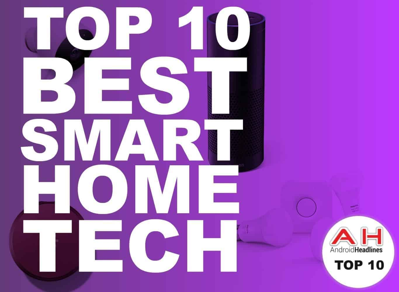 top 10 best smart home tech january 2017. Black Bedroom Furniture Sets. Home Design Ideas