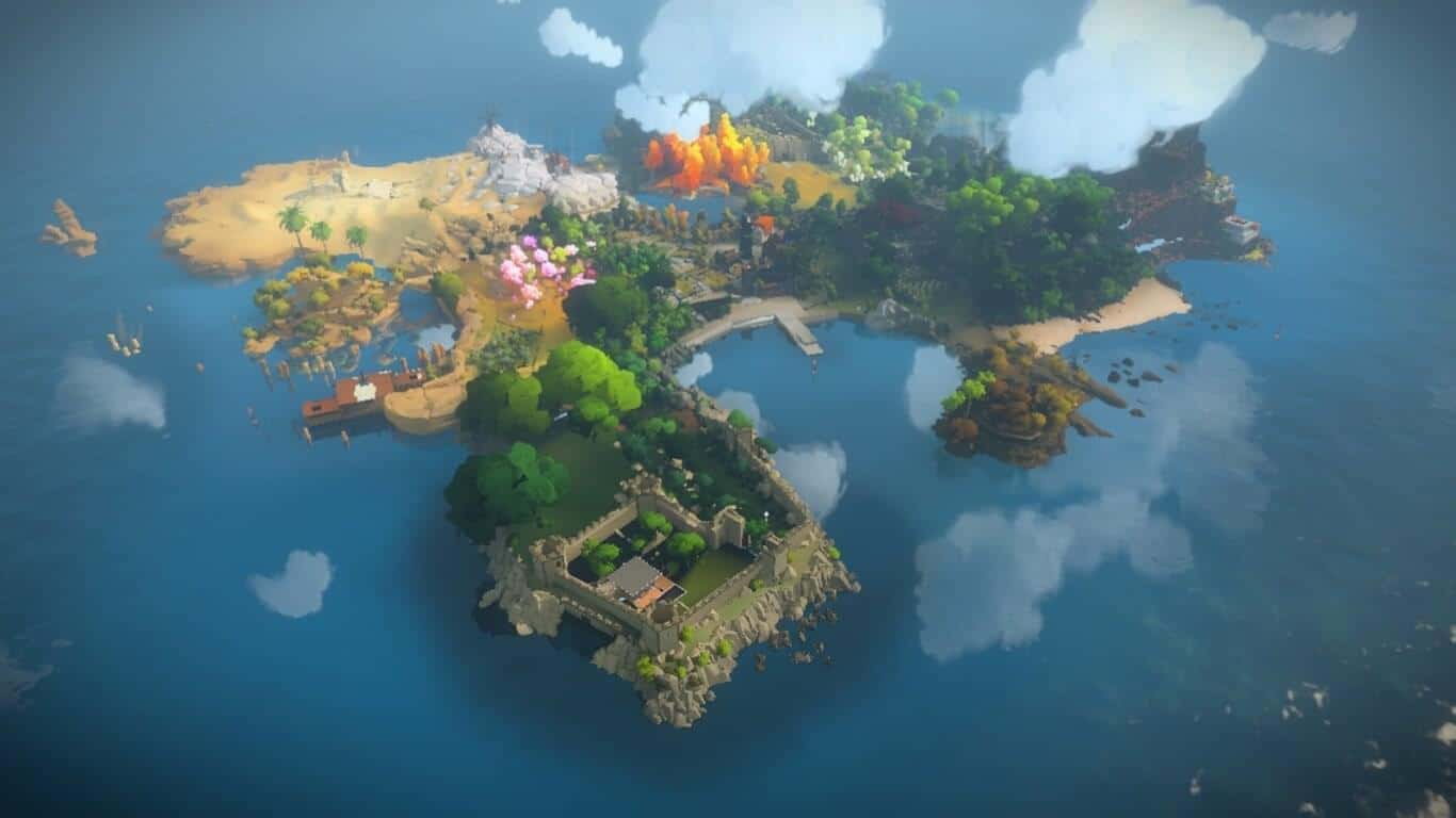 The Witness Android TV 01
