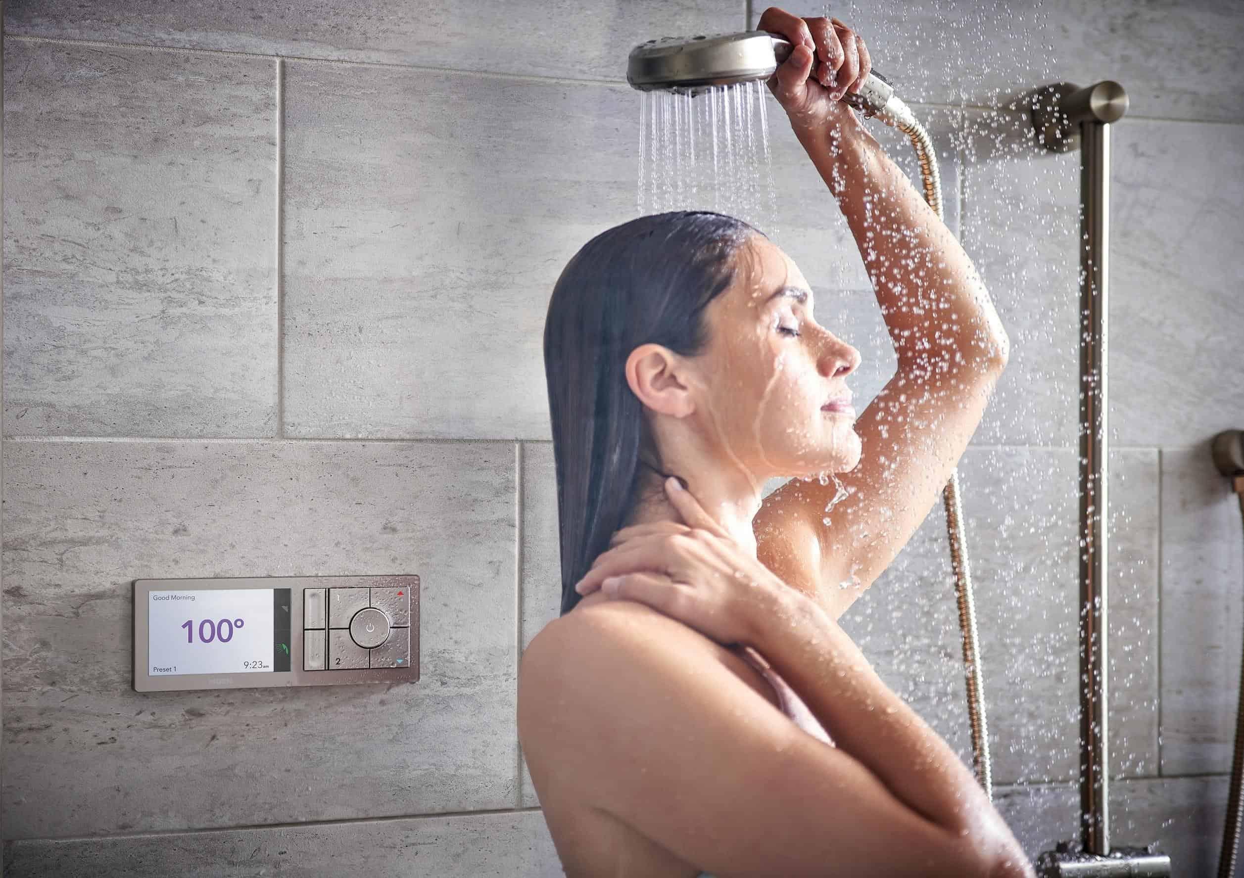 U by Moen shower 2.
