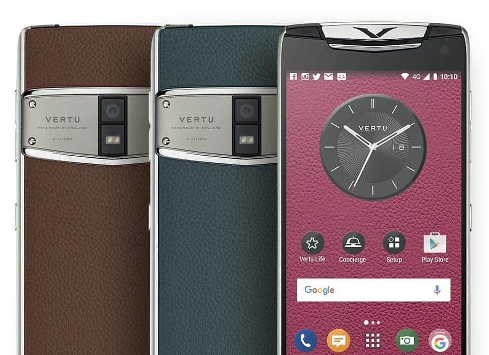 Vertu Contellation Luxury Phone