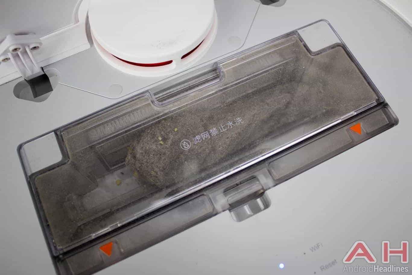 Xiaomi Mi Robot Vacuum AH NS dustbin full