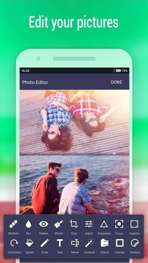 Zen Photo Editor app official image 2
