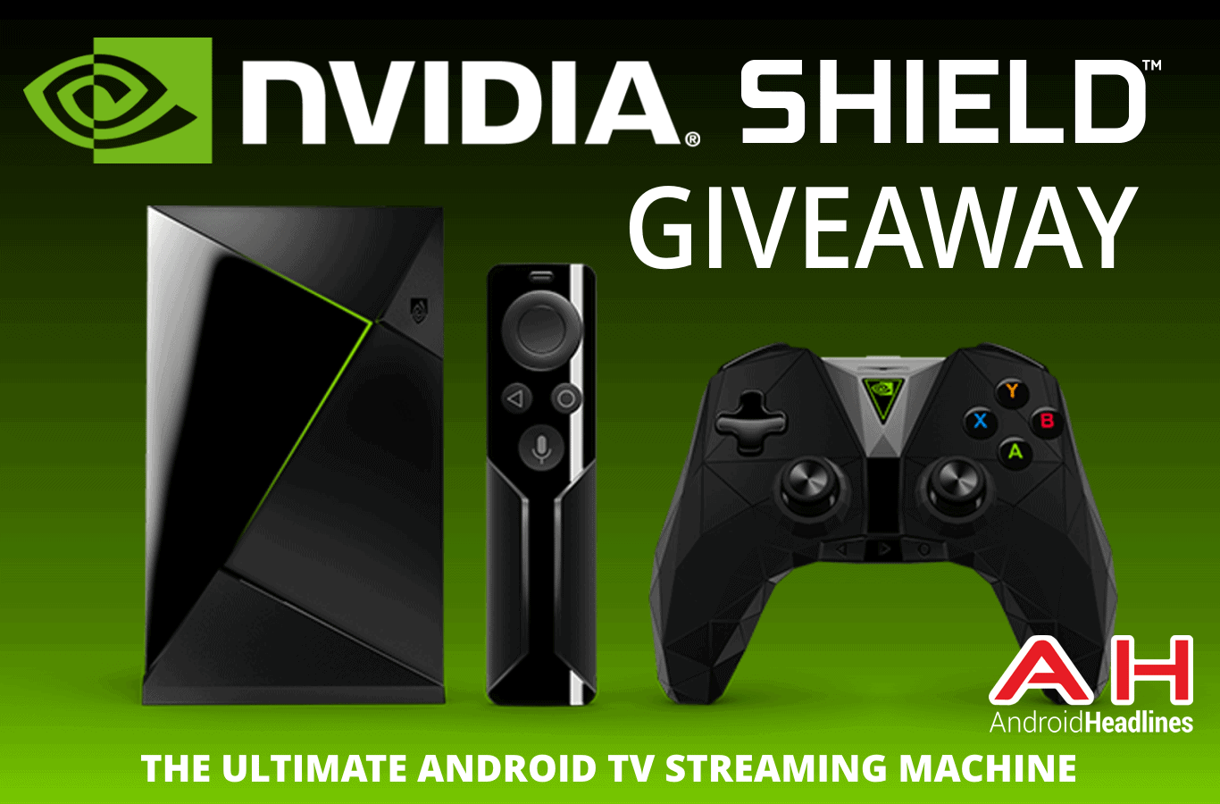AH nvidia shield 2 giveaway