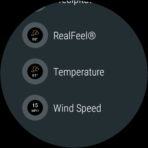 AccuWeather Android Wear 10