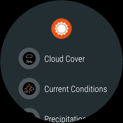AccuWeather Android Wear 9