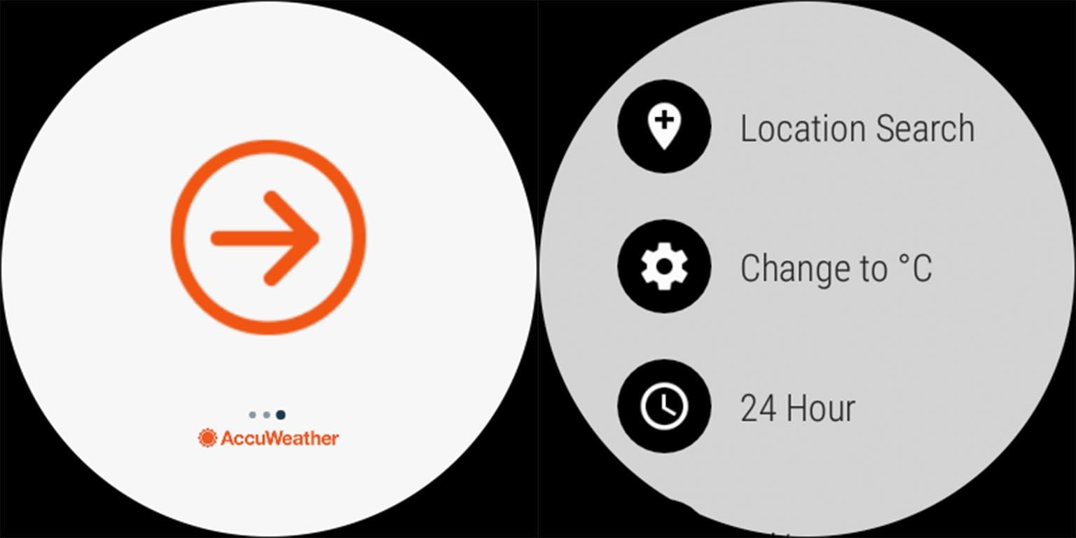 AccuWeather Old New Comparison 3