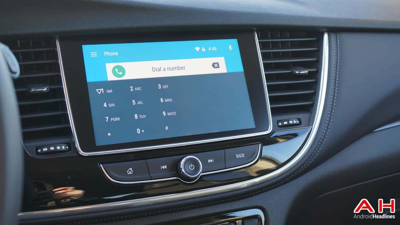 Android Auto 2017 Buick Encore AH 105