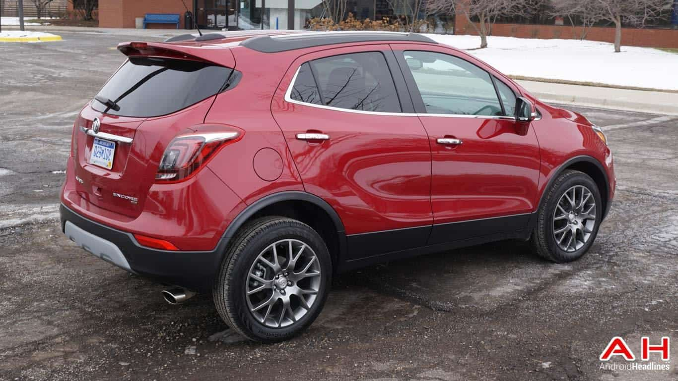 Android Auto 2017 Buick Encore AH 54