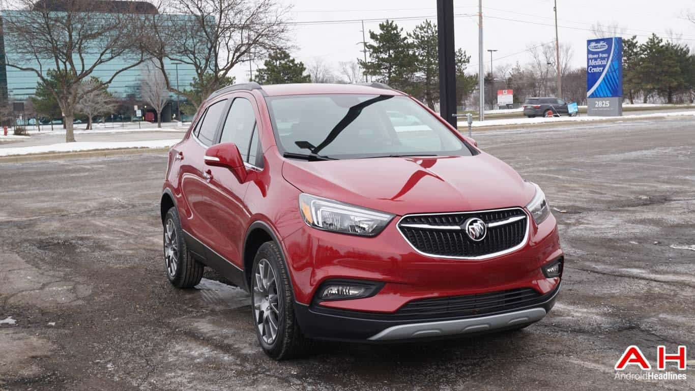 Android Auto 2017 Buick Encore AH 57