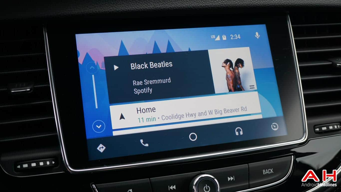 Android Auto 2017 Buick Encore AH 74