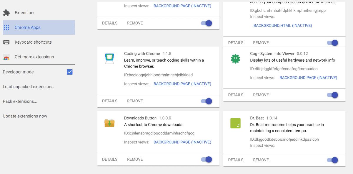 Chrome OS Material February 2017 ChromeUnboxed 2
