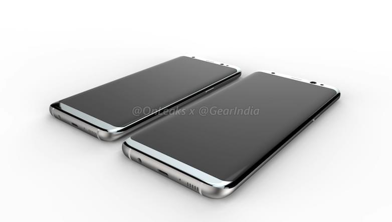 Galaxy S8 and Galaxy S8 Plus render 1