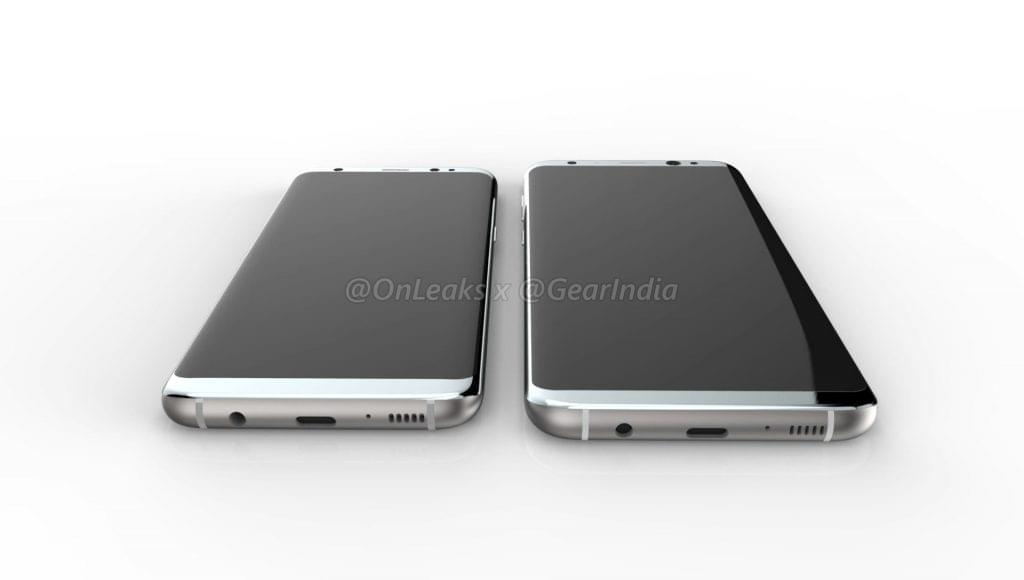 Galaxy S8 and Galaxy S8 Plus render 2