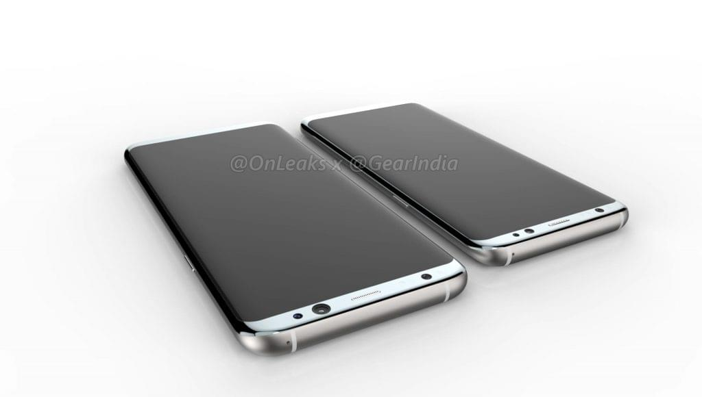 Galaxy S8 and Galaxy S8 Plus render 4