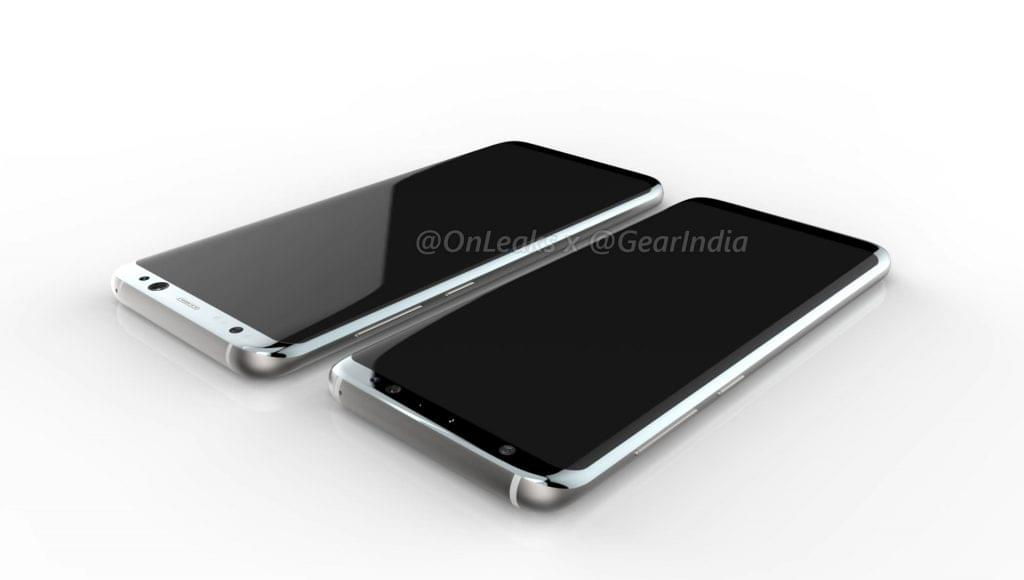 Galaxy S8 and Galaxy S8 Plus render 5