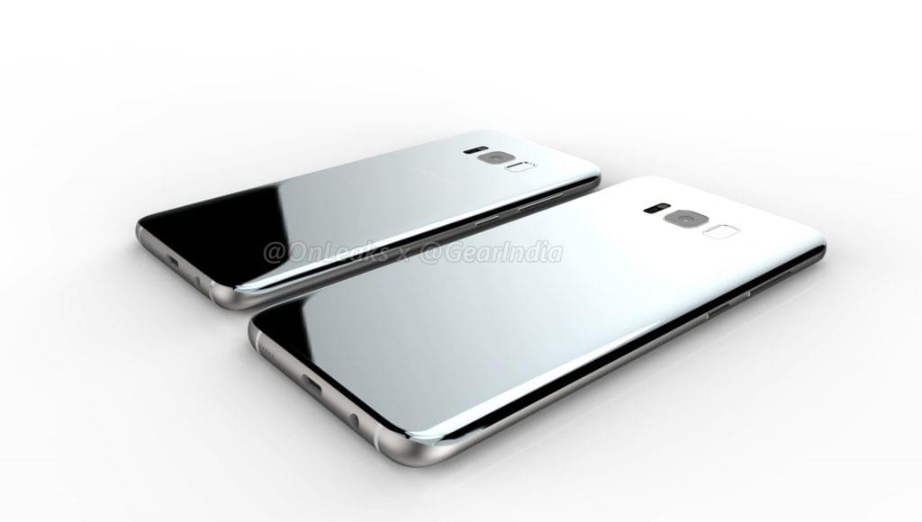 Galaxy S8 and Galaxy S8 Plus render 6
