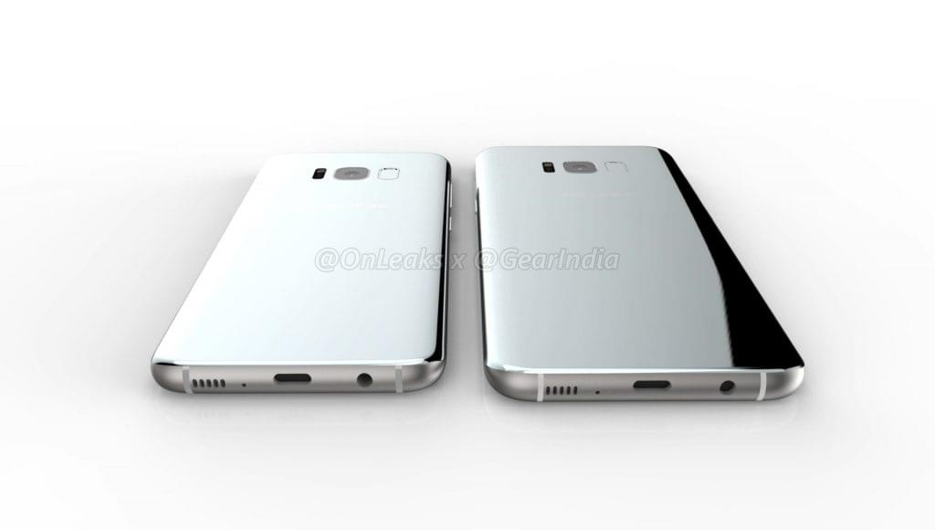 Galaxy S8 and Galaxy S8 Plus render 7