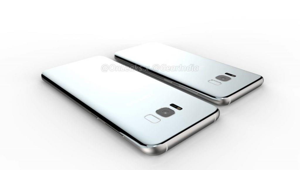 Galaxy S8 and Galaxy S8 Plus render 8