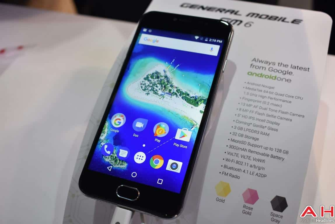 General Mobile GM 6 Android One AH 1