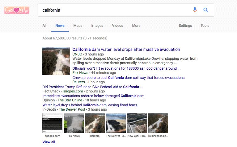 Google News fact checking 2