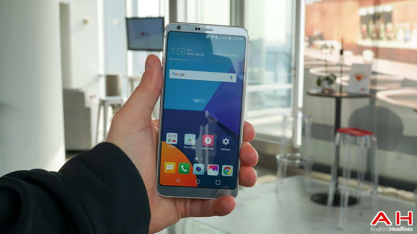 LG G6 Hands On AH 100