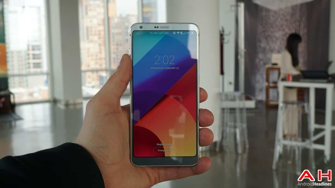LG G6 Hands On AH 105