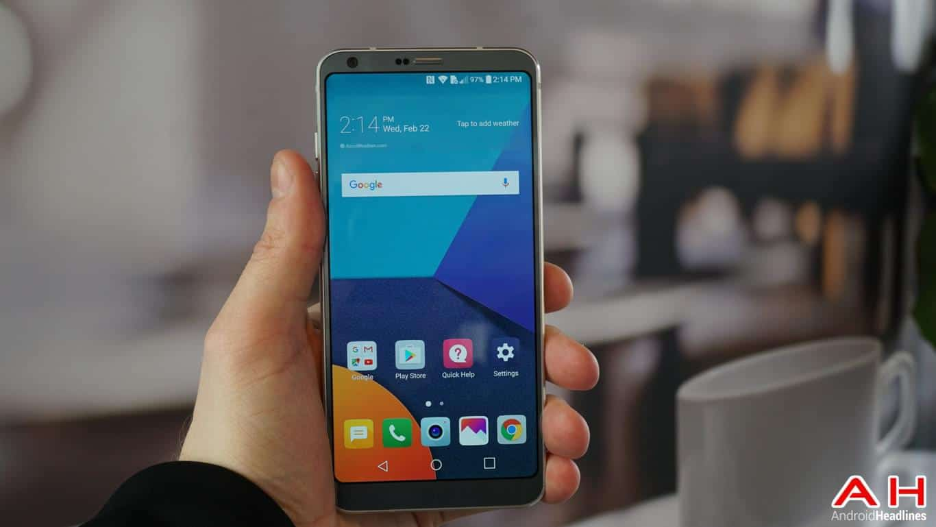 LG G6 Hands On AH 120
