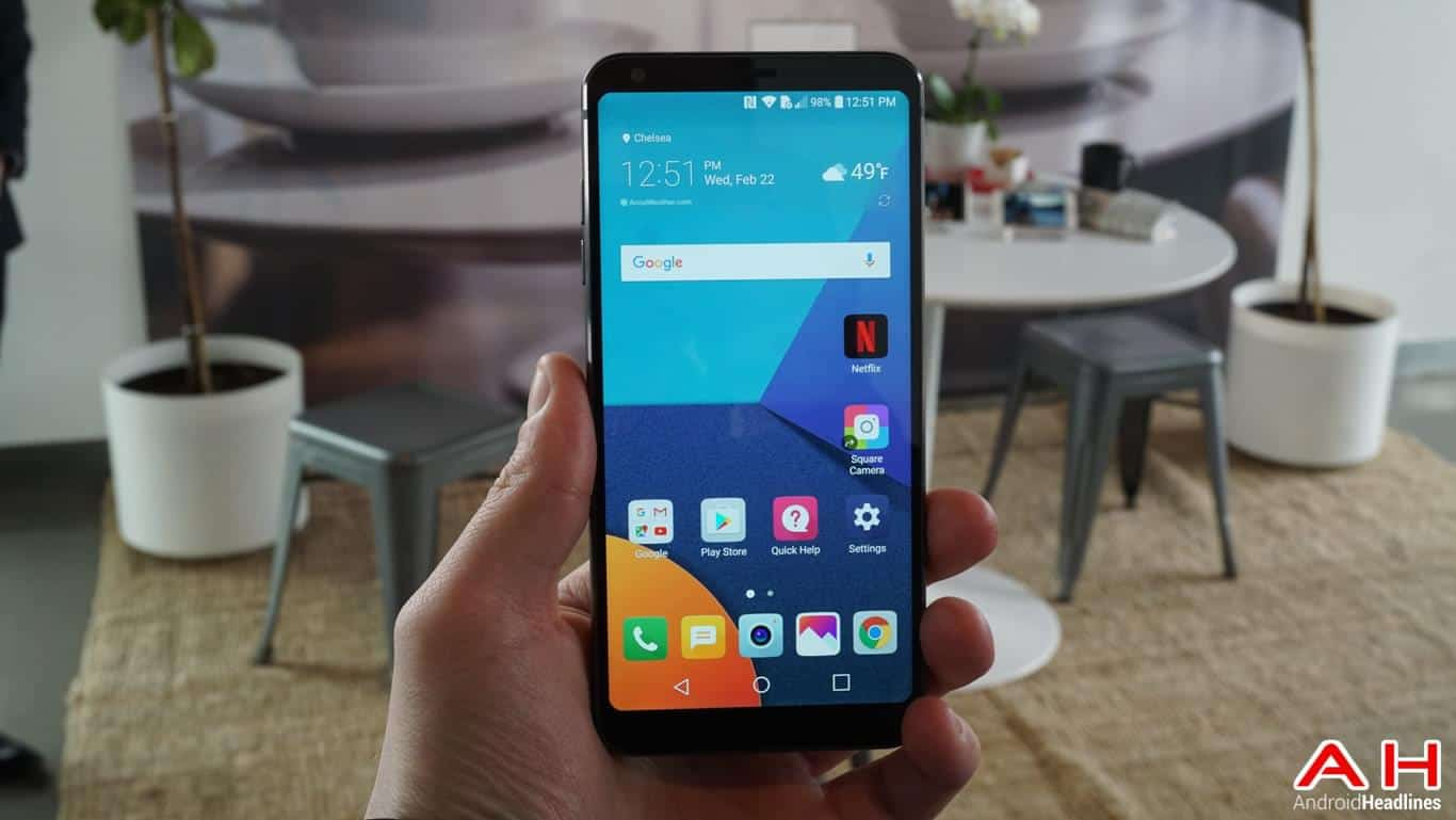 LG G6 Hands On AH 33