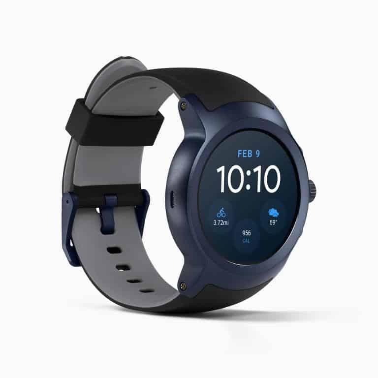 LG Watch Sport Android Wear Smartwatch Official Dark Blue 1