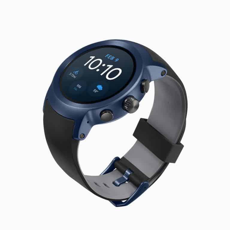 LG Watch Sport Android Wear Smartwatch Official Dark Blue 3