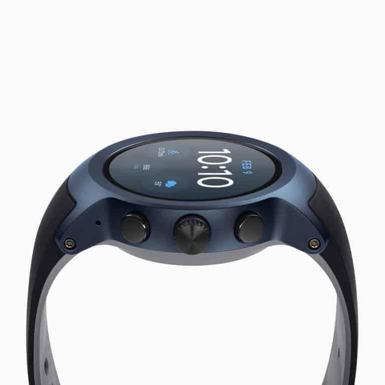 LG Watch Sport Android Wear Smartwatch Official Dark Blue 5