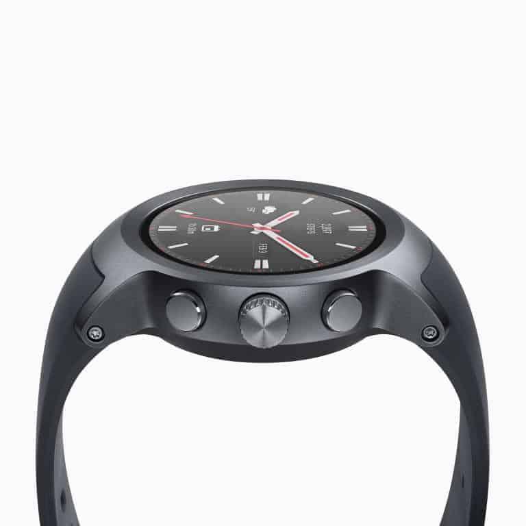 LG Watch Sport Android Wear Smartwatch Official Titanium 2