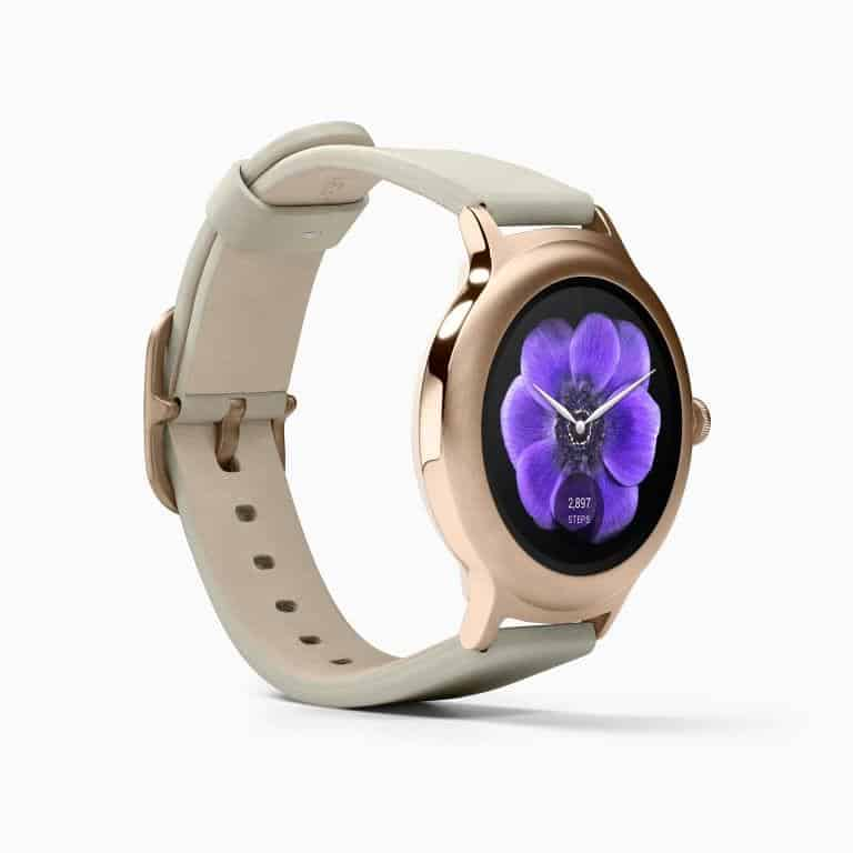 LG Watch Style Android Wear Smartwatch Official Rose Gold 2
