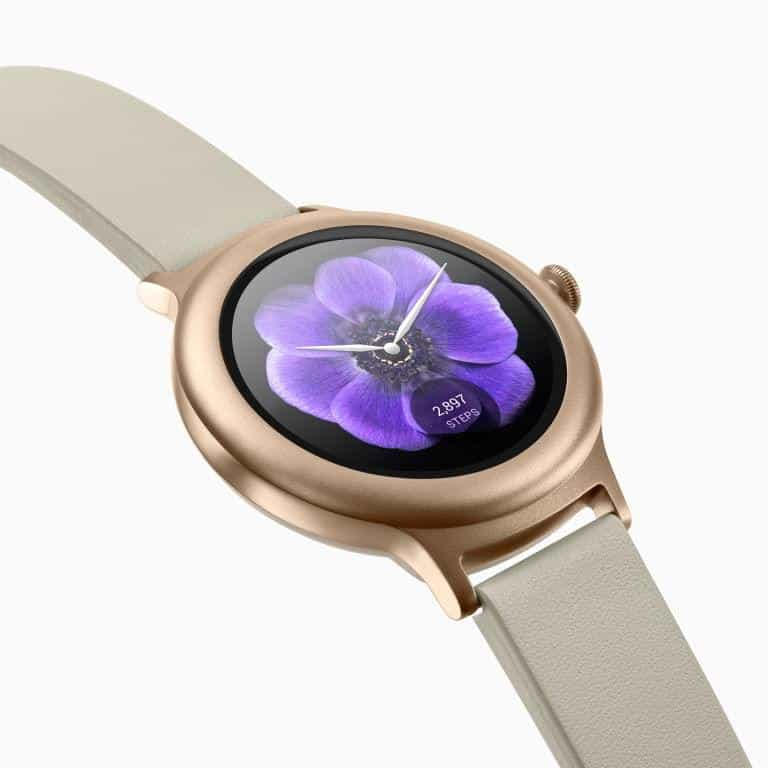 LG Watch Style Android Wear Smartwatch Official Rose Gold 3