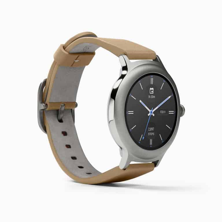 LG Watch Style Android Wear Smartwatch Official Silver 3