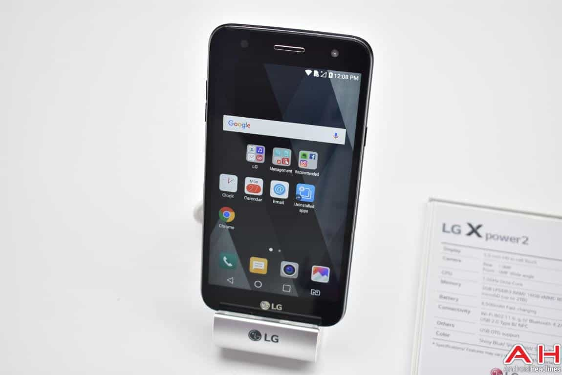 MWC 2017: Hands-On with LG's X power2 Android Smartphone ...
