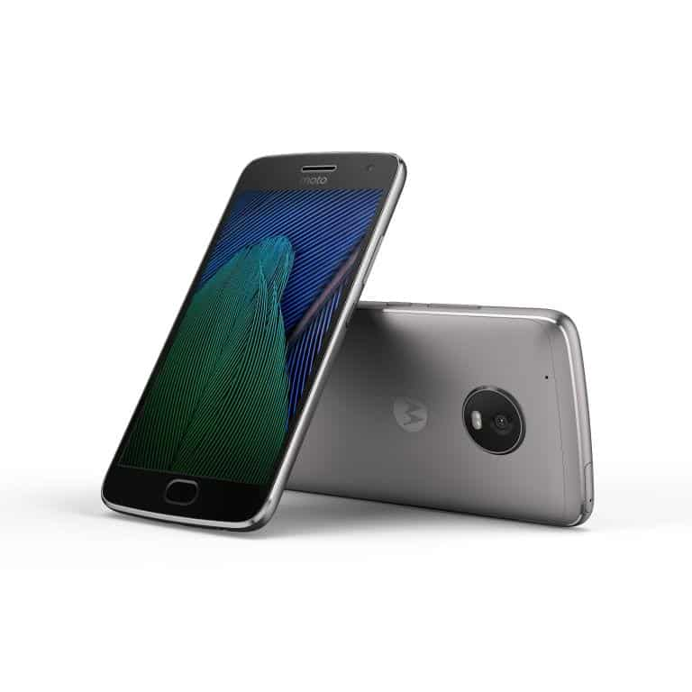 Moto G5 Plus Press 9