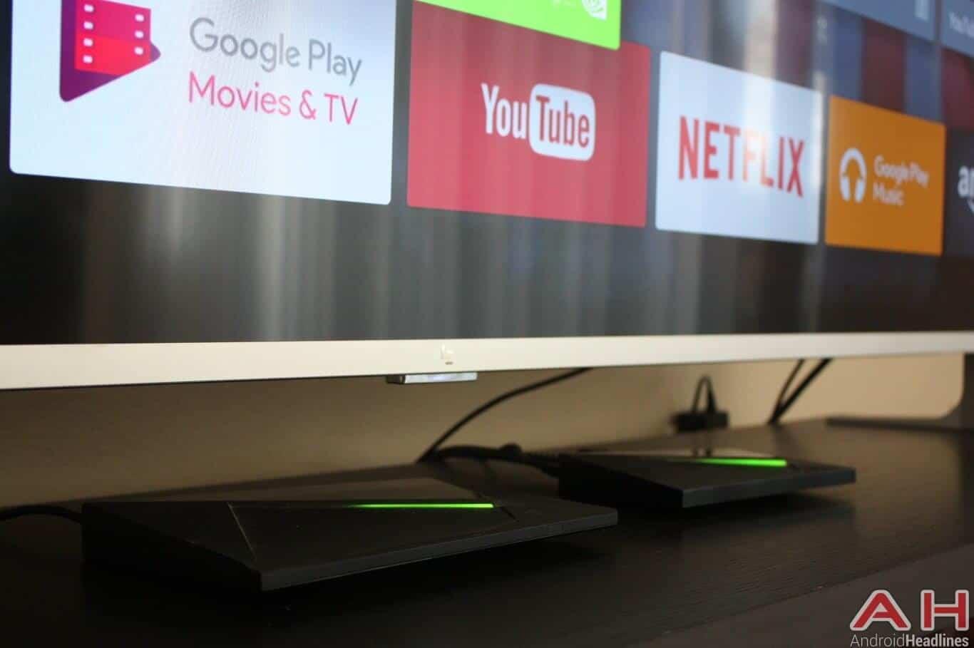 NVIDIA SHIELD Android TV Big Small AH