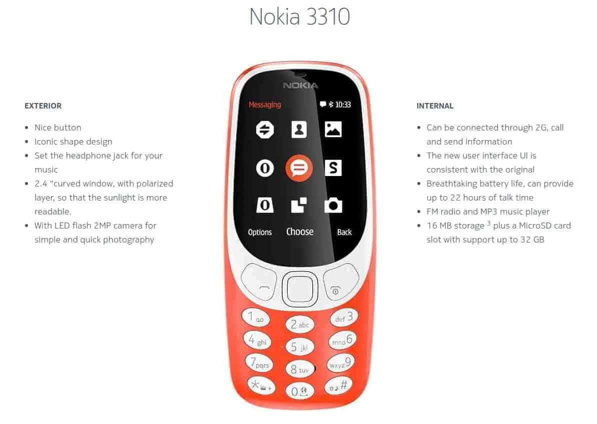 Nokia 3310 2017 7