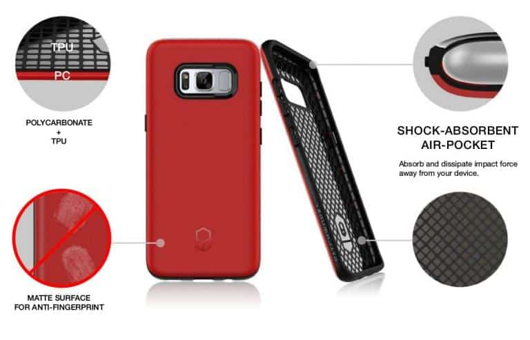 Patchworks ITG Level case for the Galaxy S8 and Galaxy S8 Plus 2