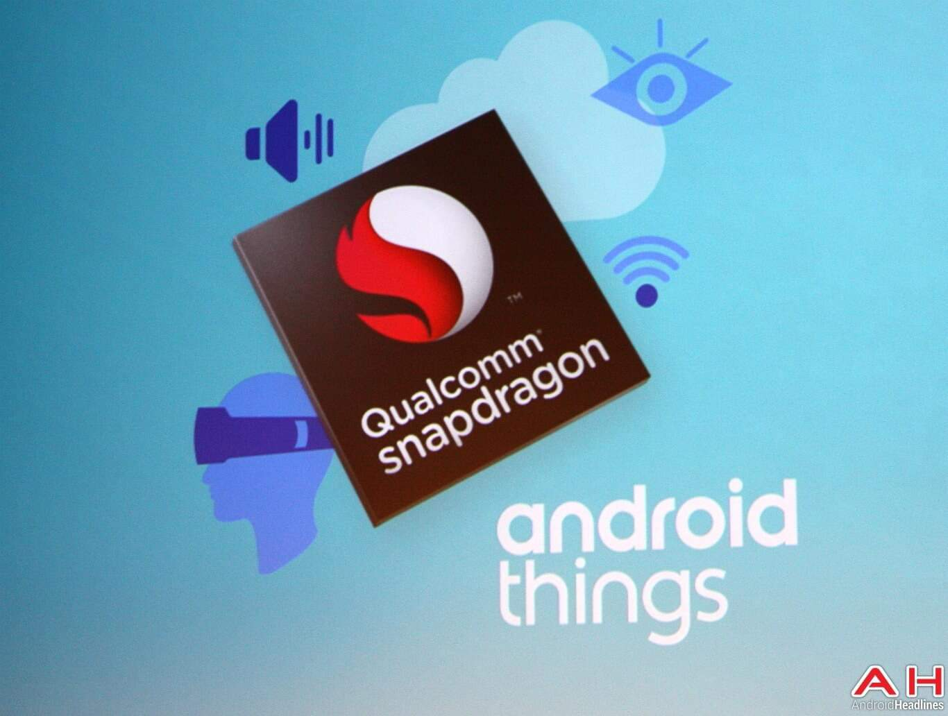 Qualcomm Android Things Logo AH 1