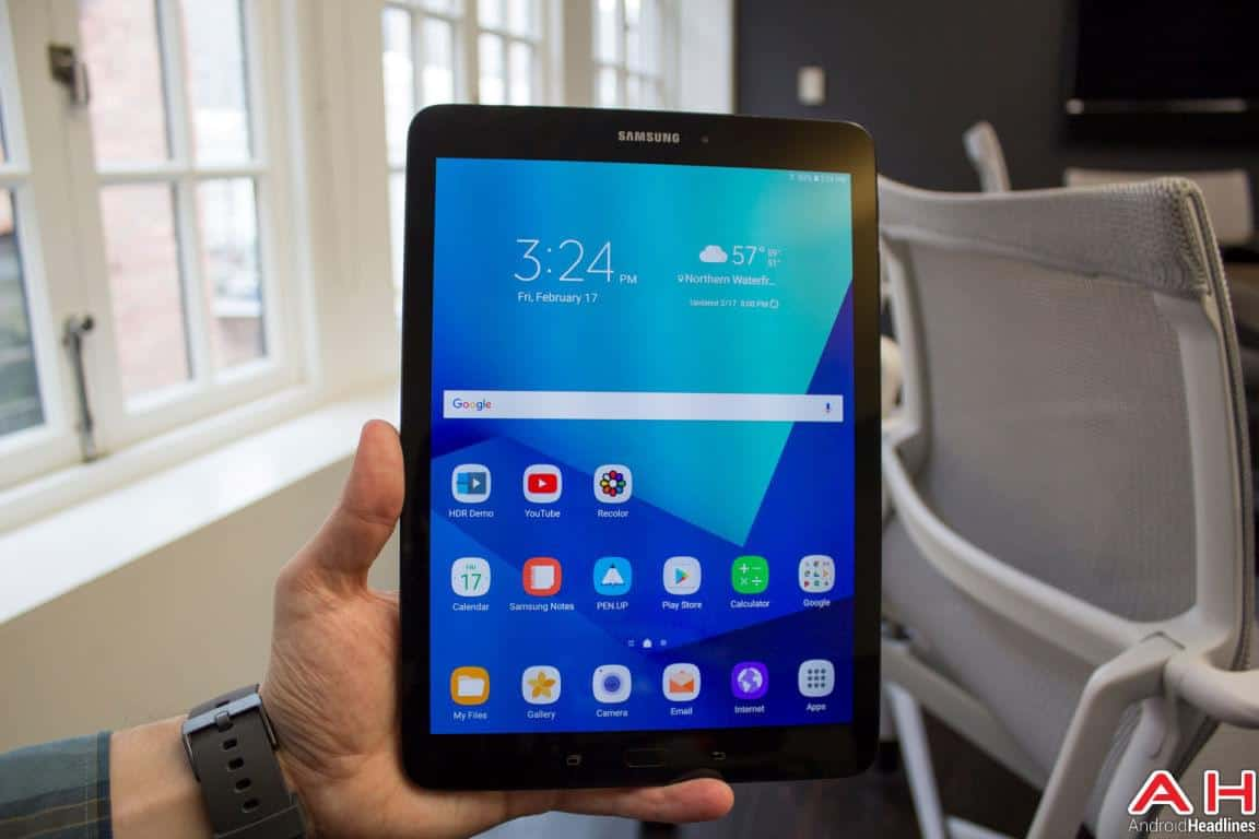 Samsung Galaxy Tab S3 Hands On AH 14
