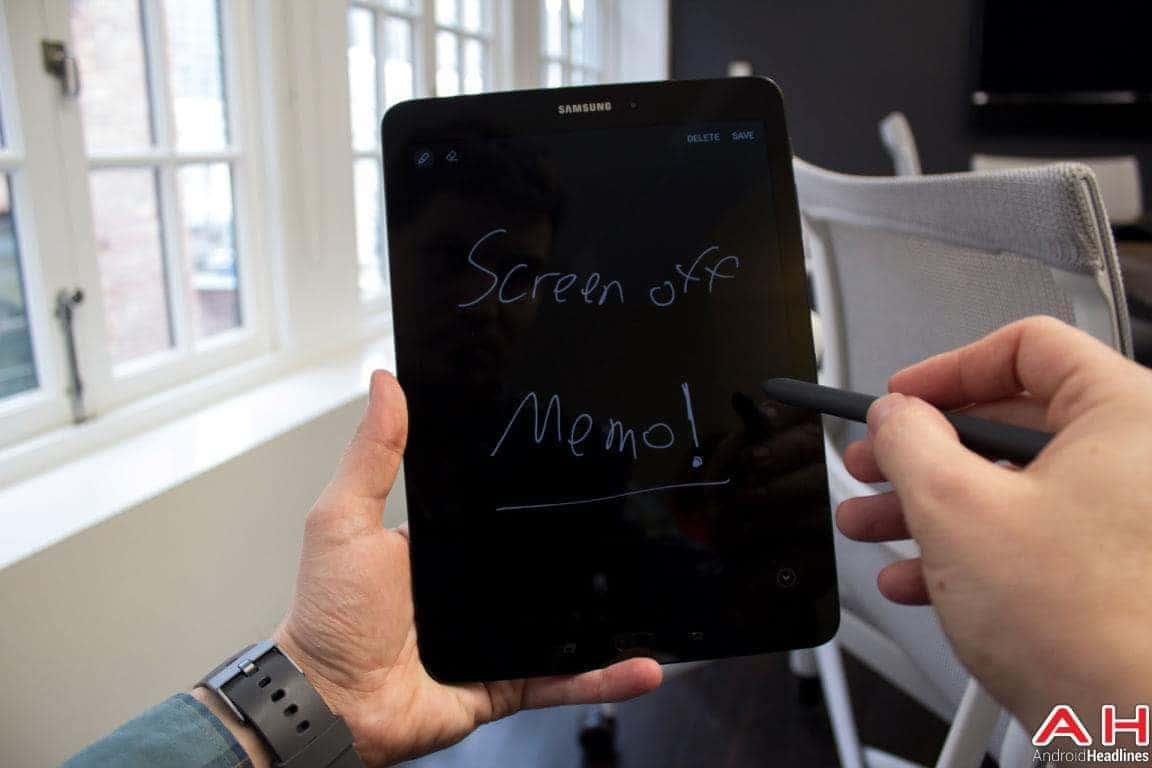 Samsung Galaxy Tab S3 Hands On AH 16