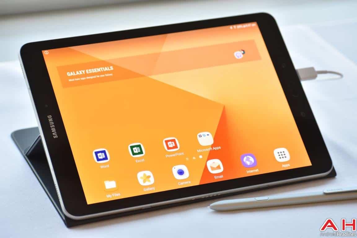 Samsung Galaxy Tab S3 Hands On AH 40