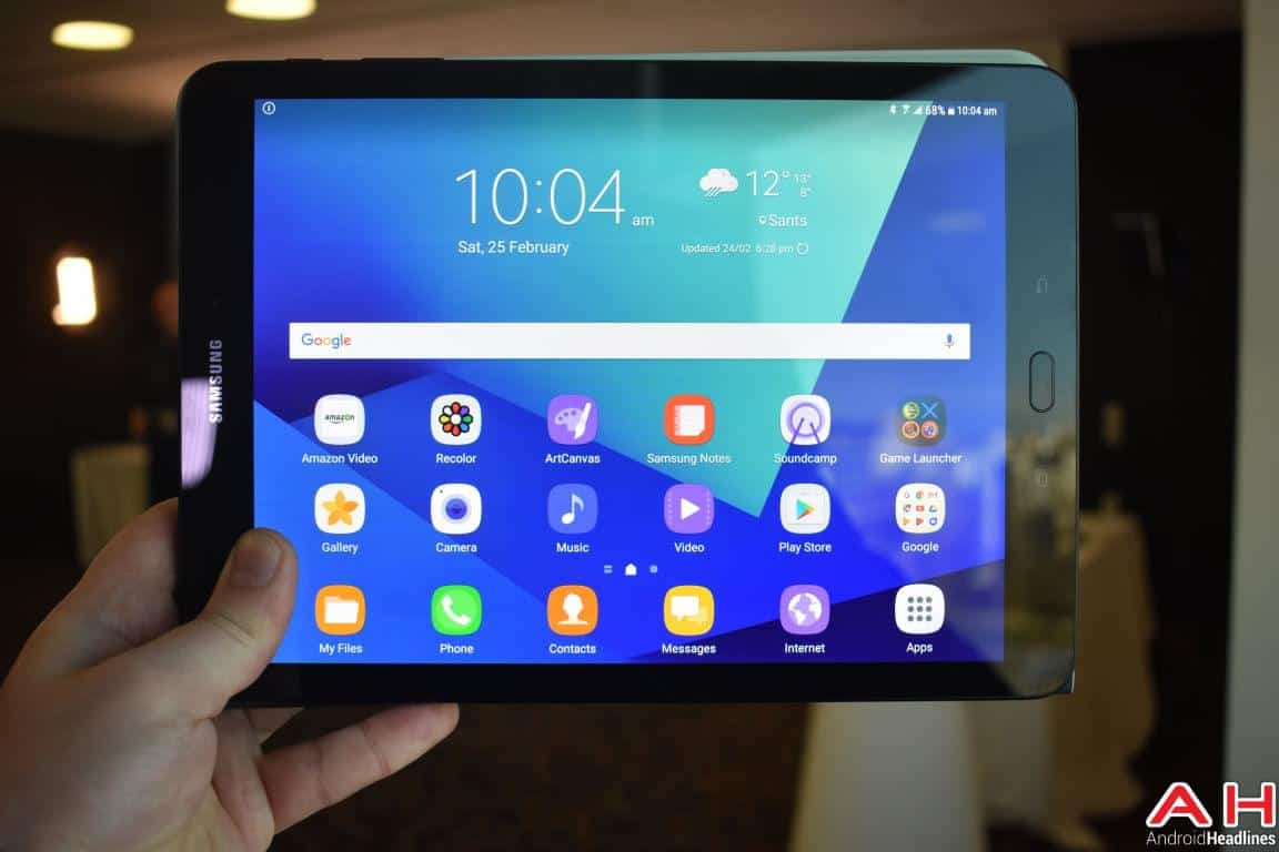 Samsung Galaxy Tab S3 Hands On AH 58