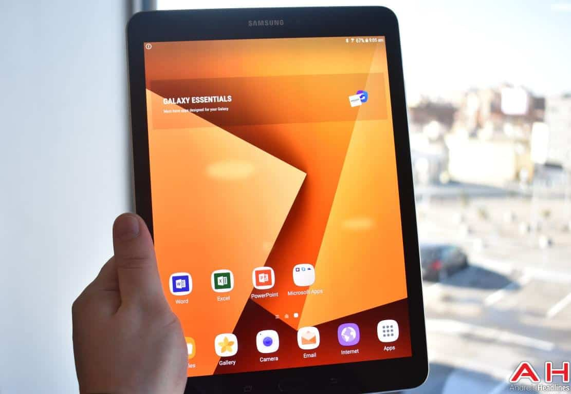 Samsung Galaxy Tab S3 Hands On AH 61