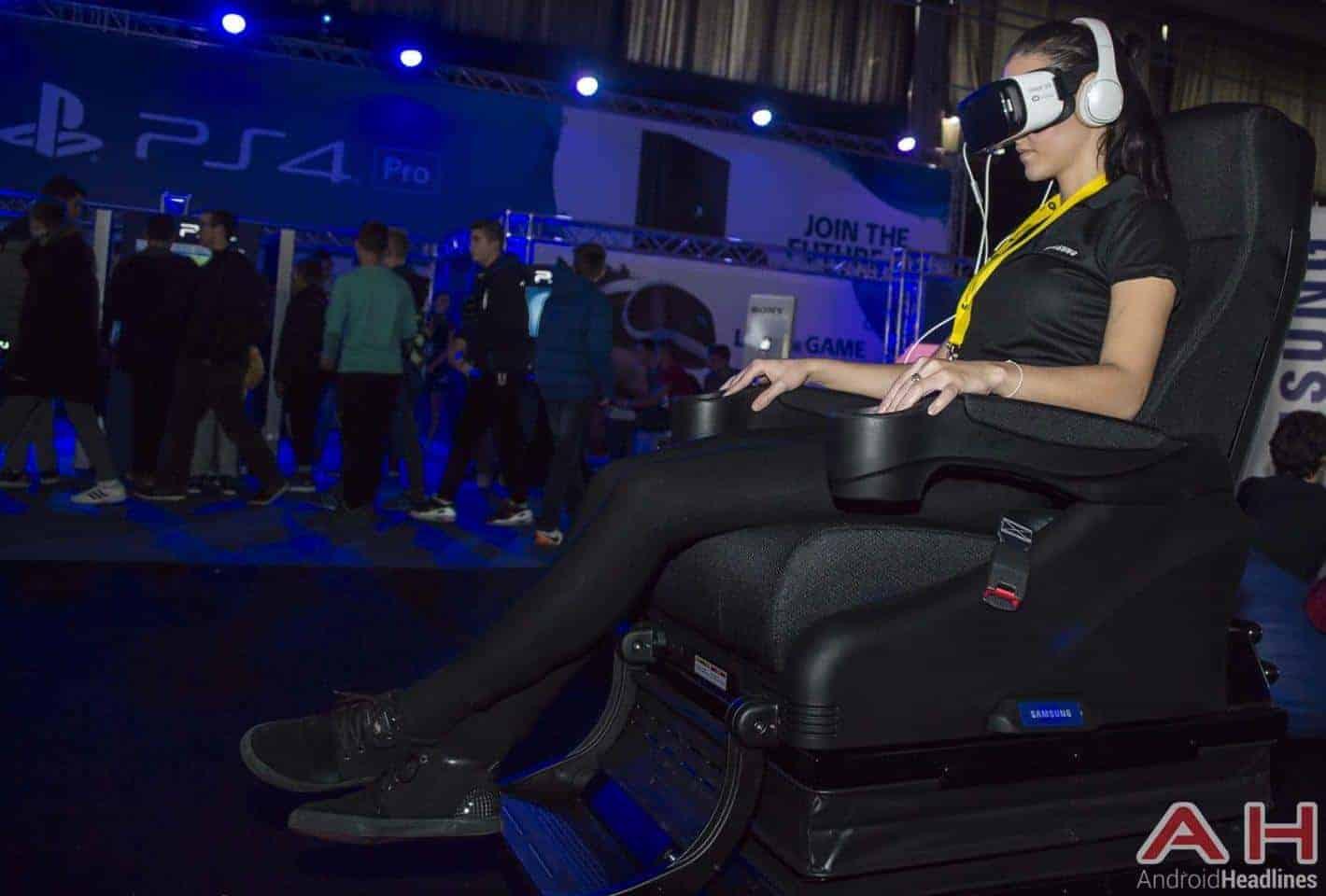 Samsung Gear VR Headset Sitting Session AH