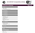 Samsung Hello Wi Fi Certificate